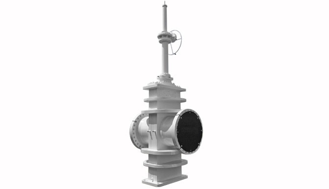 Slab Gate Valve: Hi-Temp